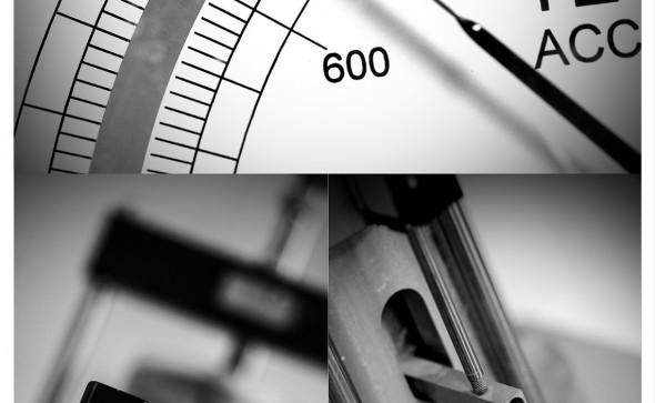 Triptique - œdometre, manomètre, changeur de volume